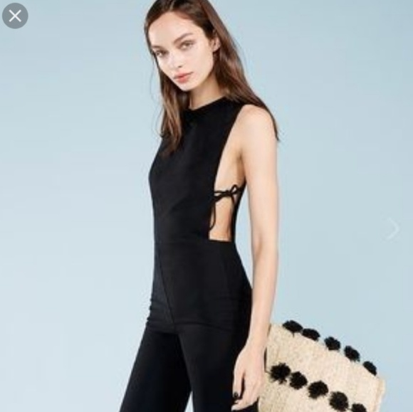 433c000ad4a NWT Reformation tie side Sheila jumpsuit